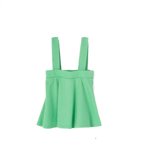 Coconut Summer Green Detachable Suspender Skirt