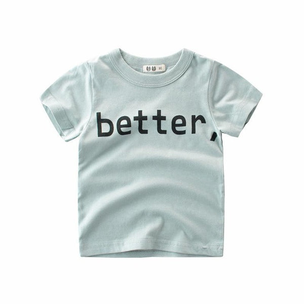 Sky Blue Better Tee - cutelittlemonster.com