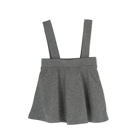 Coconut Grey Detachable Suspender Skirt