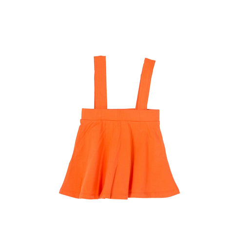 Coconut Orange Detachable Suspender Skirt