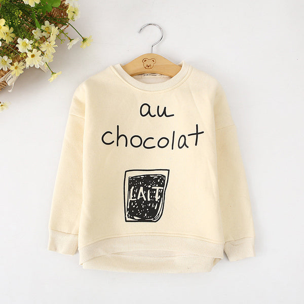 Cream Chocolat Top - cutelittlemonster.com