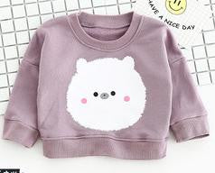 Purple Bear Top - cutelittlemonster.com