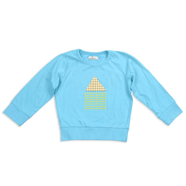 Coconut House Sweatshirt Tee - cutelittlemonster.com