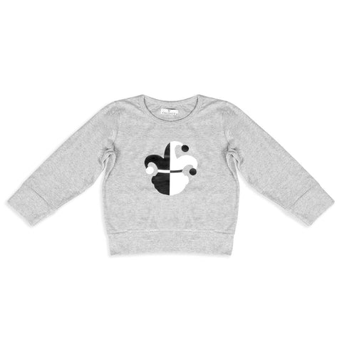Coconut Grey Jester Sweatshirt Tee