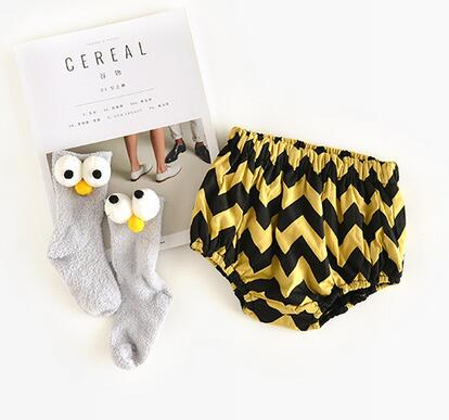 Yellow Chevron Bloomer
