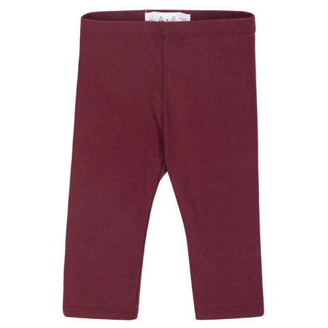 fi+fi Burgundy Leggings