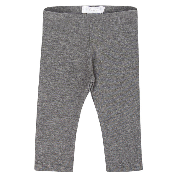 fi+fi Heather Grey Leggings - cutelittlemonster.com