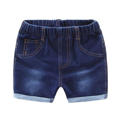 Denim Cuff Shorts