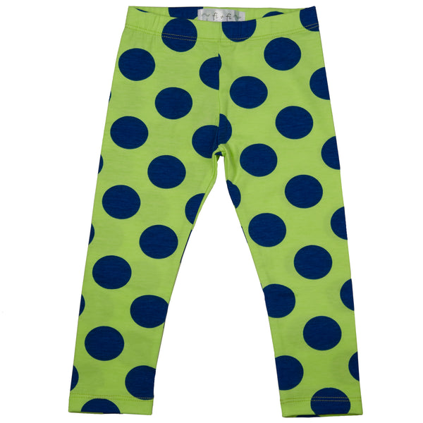 fi+fi Green Dot Legging - cutelittlemonster.com
