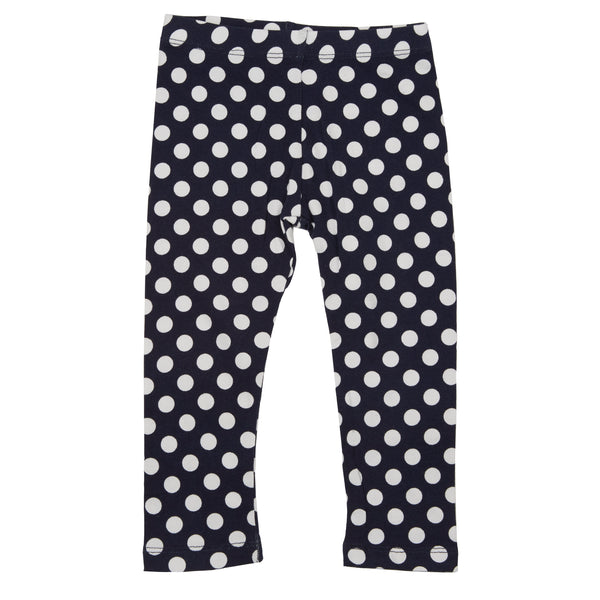 fi+fi Navy Dot Legging - cutelittlemonster.com