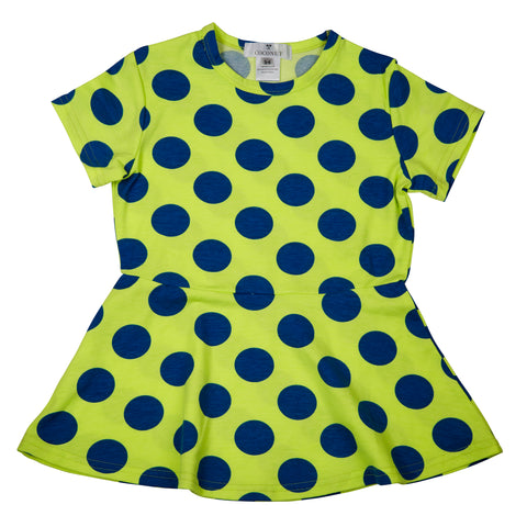 Coconut Green Dot Dress