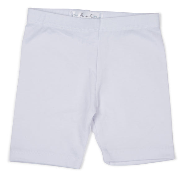 fi+fi White Bike Shorts - cutelittlemonster.com