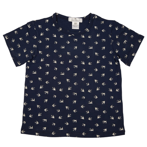 Coconut Bird Print Tee