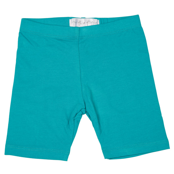 fi+fi Teal Bike Shorts - cutelittlemonster.com