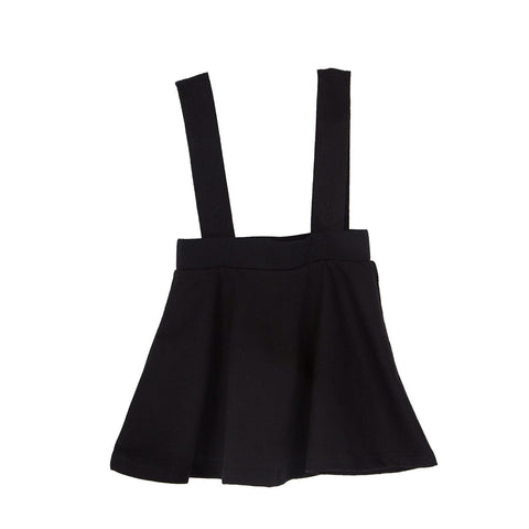Coconut Black Detachable Suspender Skirt