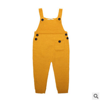 Yellow Overalls - cutelittlemonster.com