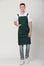 Xion Crossback Bib Apron - Green Chef Wear