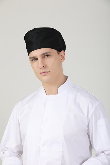 Mimosa Black | No Vent - Green Chef Wear