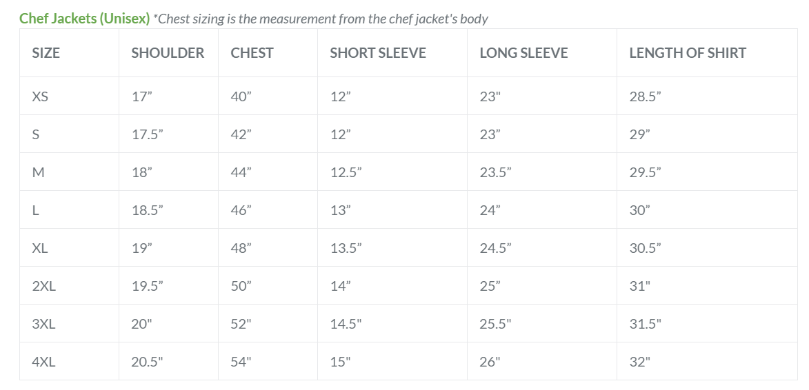 Dill Chef Jacket - Green Chef Wear