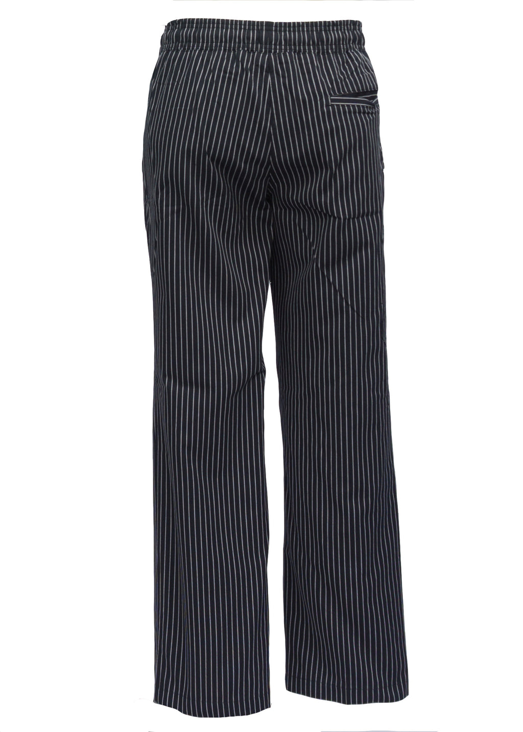 Small Stripes Chef Pants - Green Chef Wear