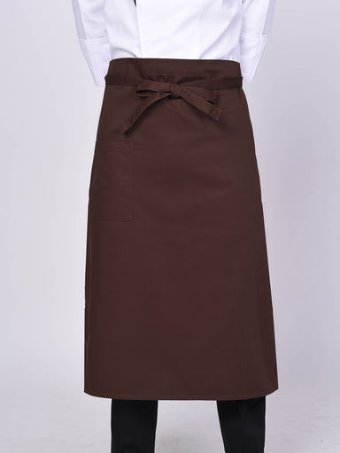 Brown Chef Apron - Green Chef Wear