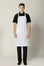 White Bib Apron - Green Chef Wear