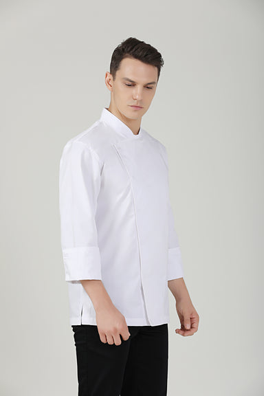 Holly Long Sleeve Chef Jacket - Green Chef Wear