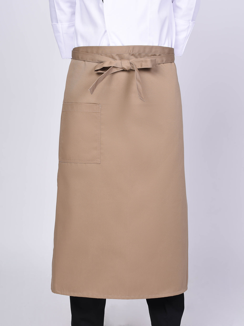 Khaki Chef Apron - Green Chef Wear