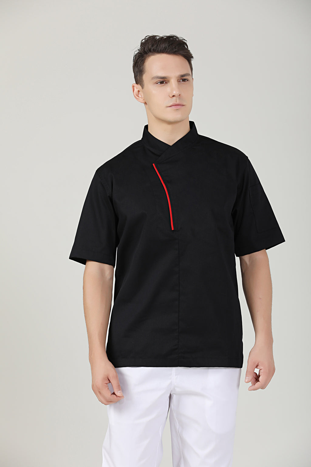 Parsley Black Chef Jacket - Green Chef Wear