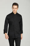 Tarragon Black Long Sleeve - Green Chef Wear