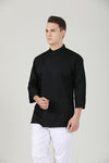 Thyme Black Long Sleeve - Green Chef Wear