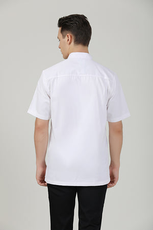Thyme White Short Sleeve - Green Chef Wear
