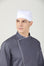 Caribbean Cap, White - Green Chef Wear