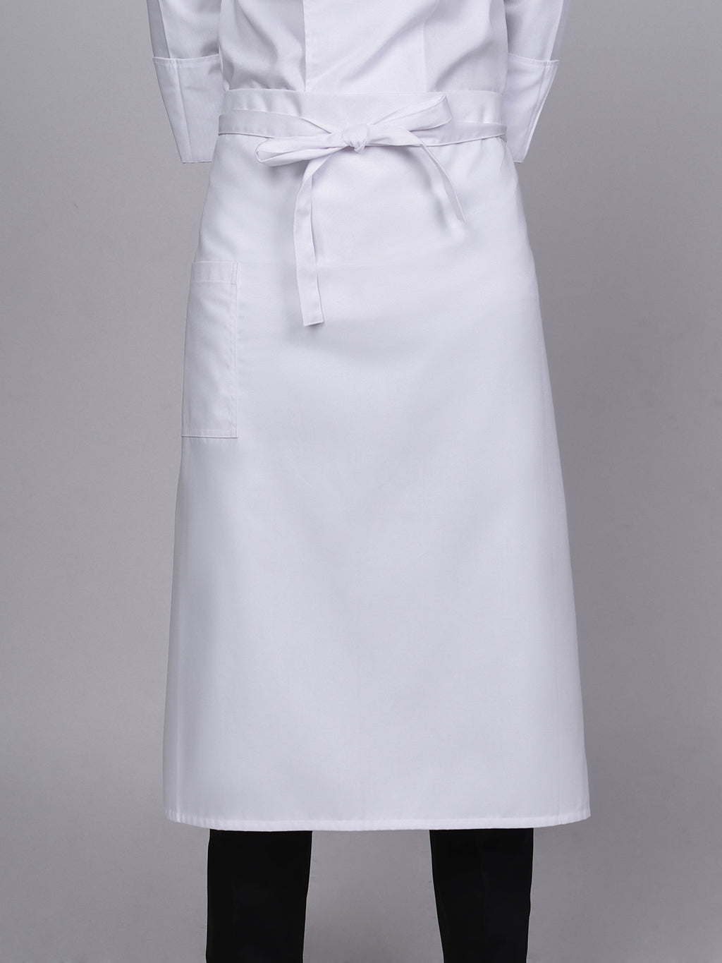 "White Chef Apron 31"" - Green Chef Wear"