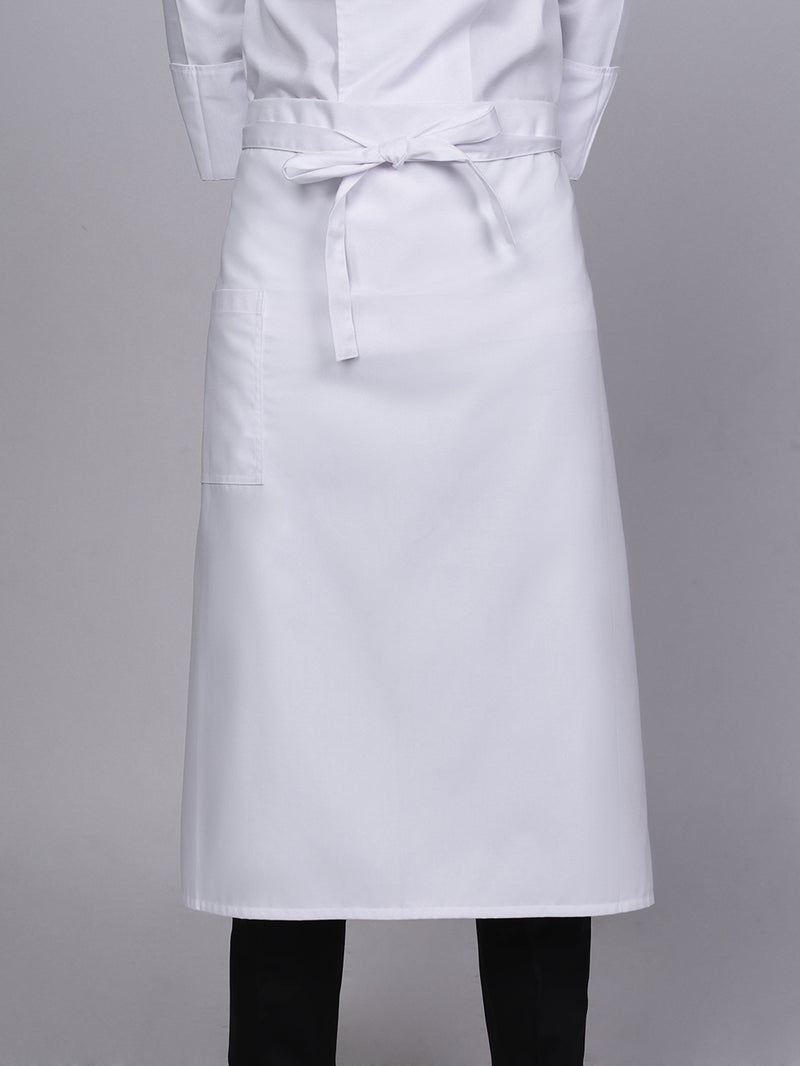 White Chef Apron 31