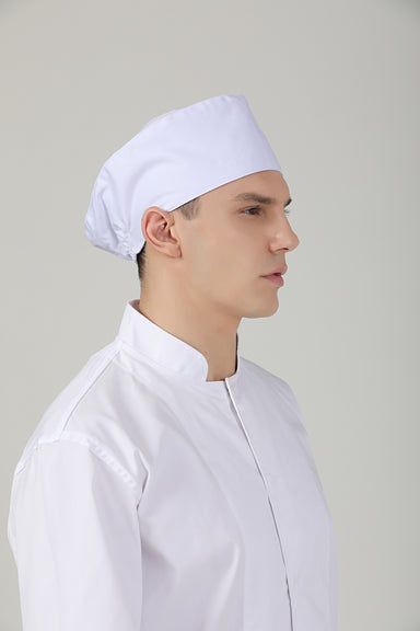 Mimosa White | No Vent - Green Chef Wear