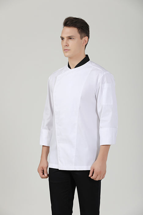 Willow Long Sleeve - Green Chef Wear