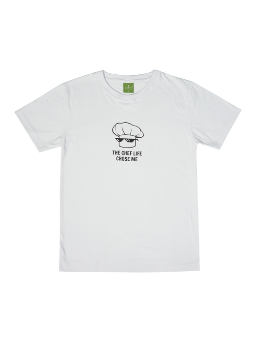 The Chef Life Chose Me T-Shirt - Green Chef Wear