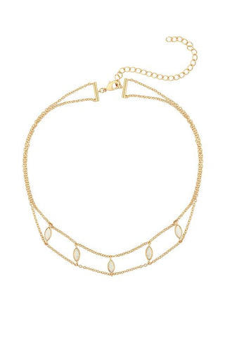 Joie Opal Choker by Five and Two