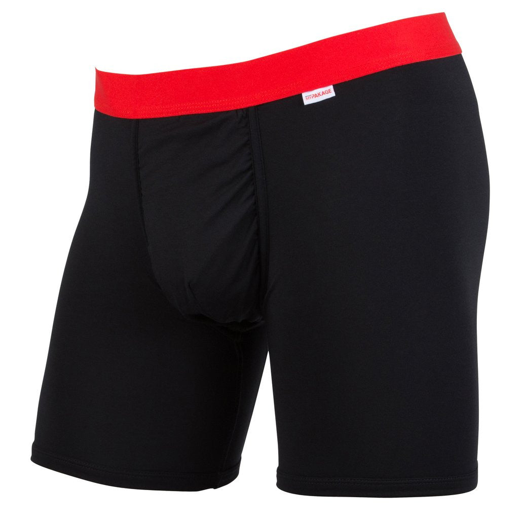 WEEKDAY BOXER BRIEF BLACK/RED (Small)