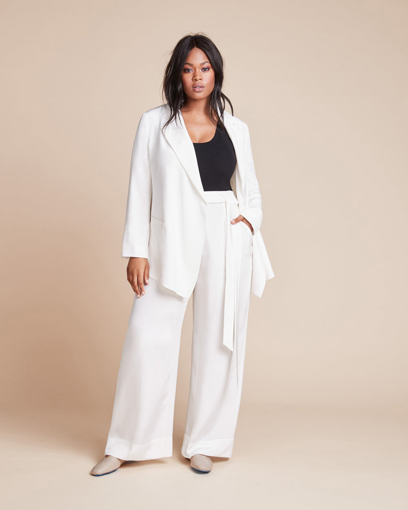 One Piece, Three Ways, Daniel Wingate White Blazer