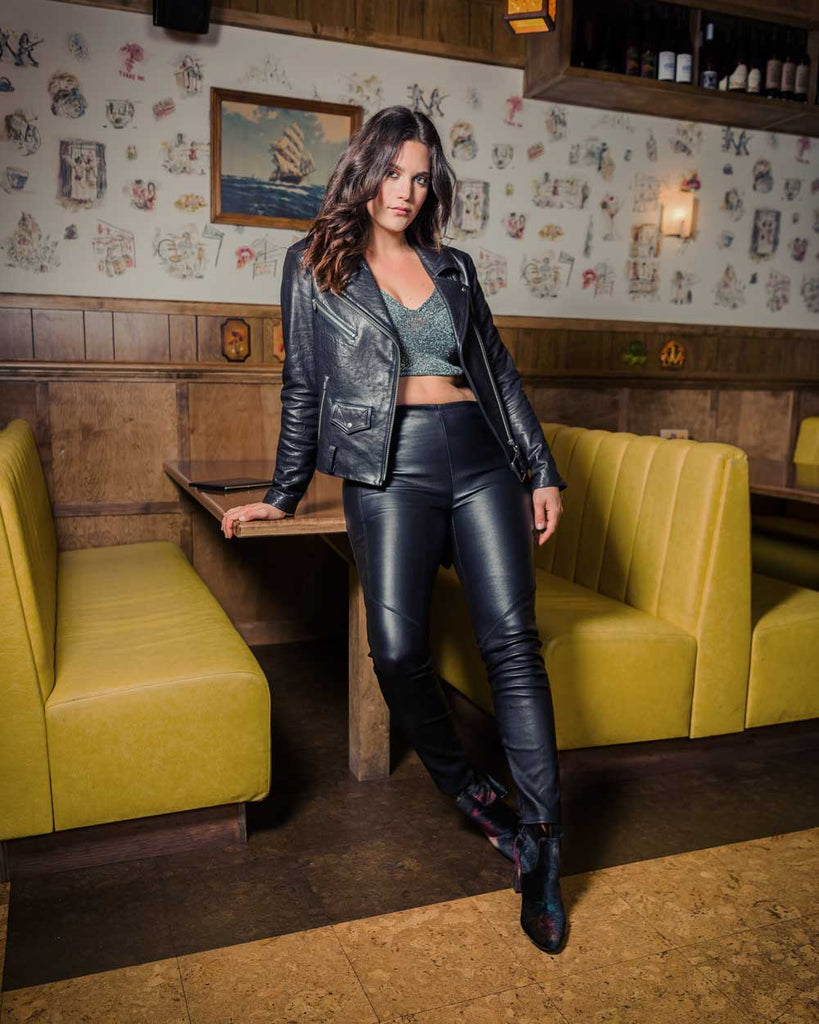 The Perfect Leather Jacket From Veda