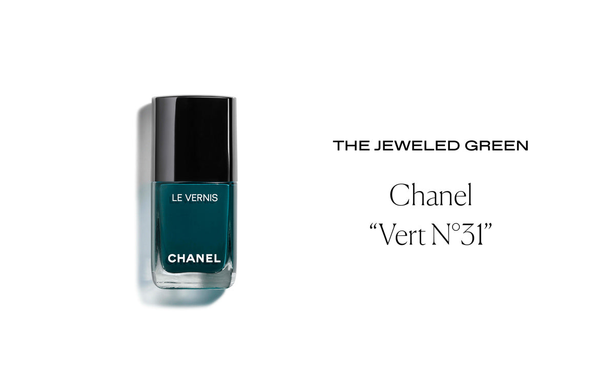 Chanel Le Veris Nail Polish in Vert N°31