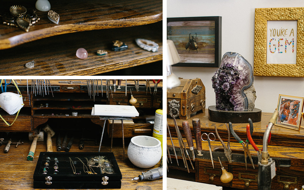 Creative Spaces: A Jewelry Designer's Mountainside Atelier