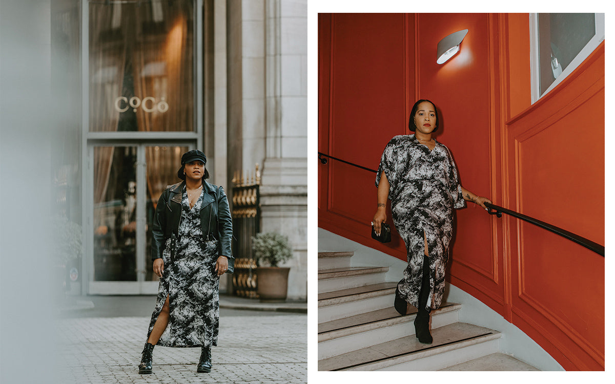 Day-to-Night Dressing in Paris with Danielle Williams-Eke