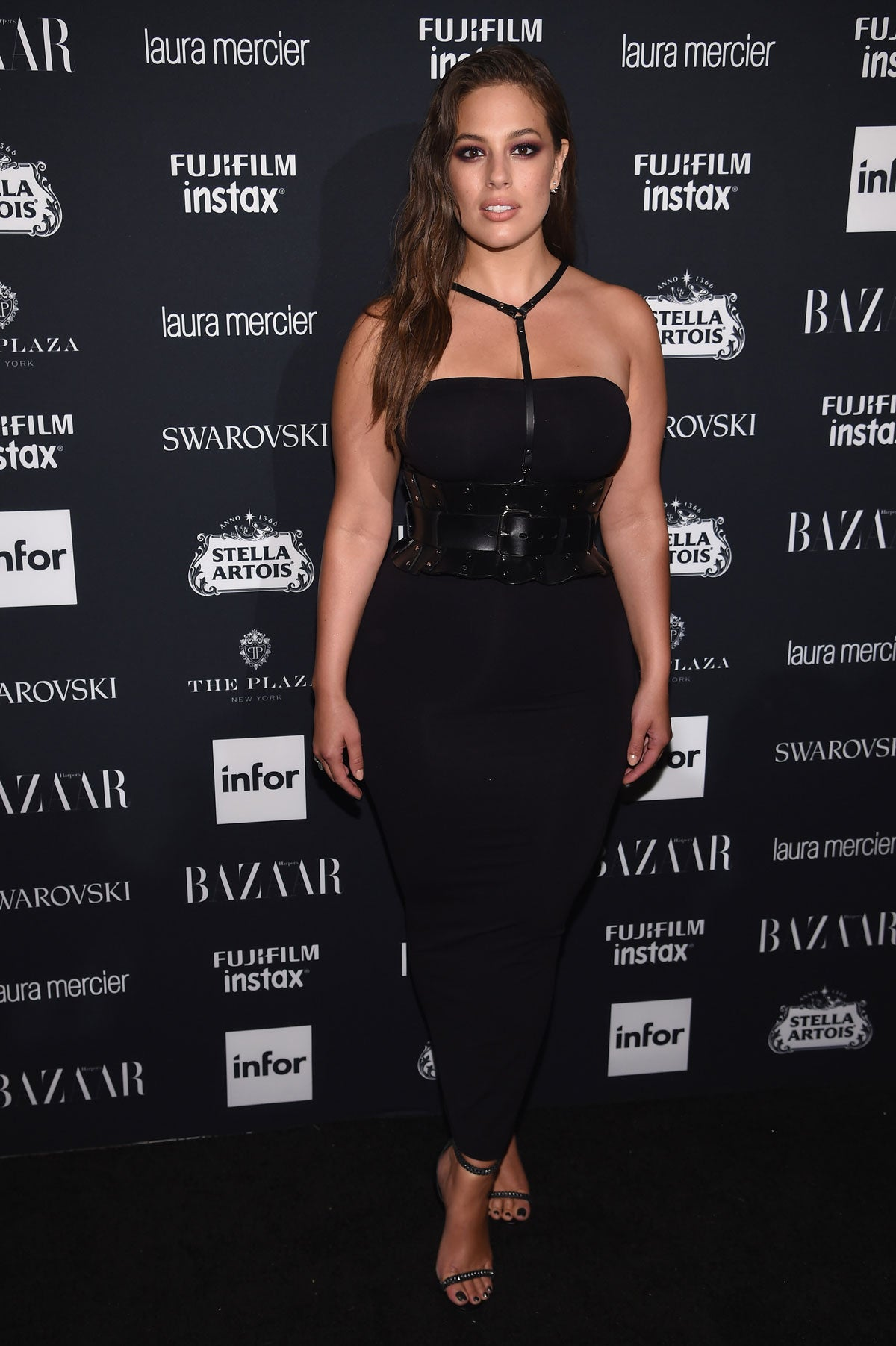 "Ashley Graham attends ""ICONS by Carine Roitfeld"" at the Plaza Hotel during New York Fashion Week."