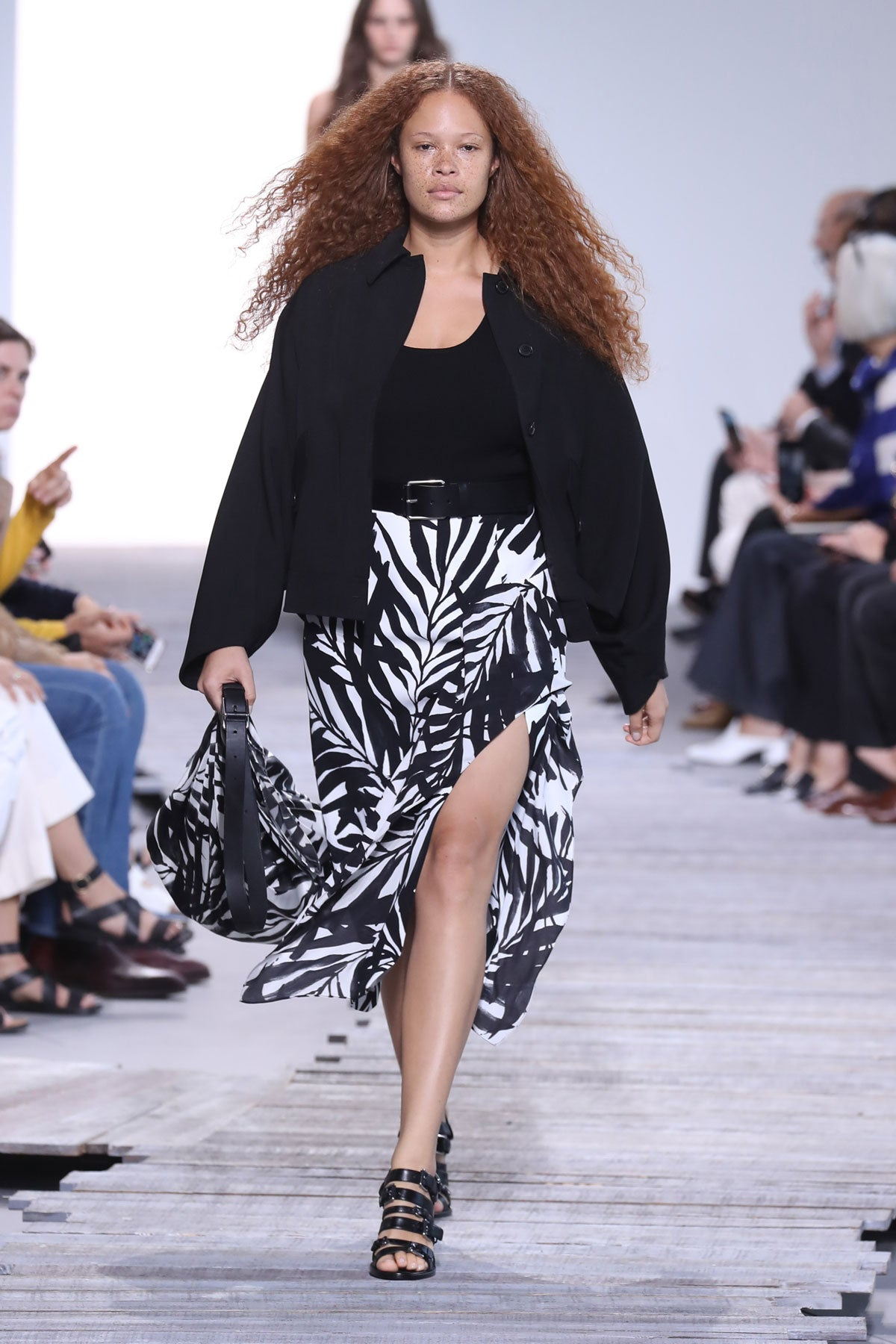 Michael Kors spring 2018 runway show during New York Fashion Week.