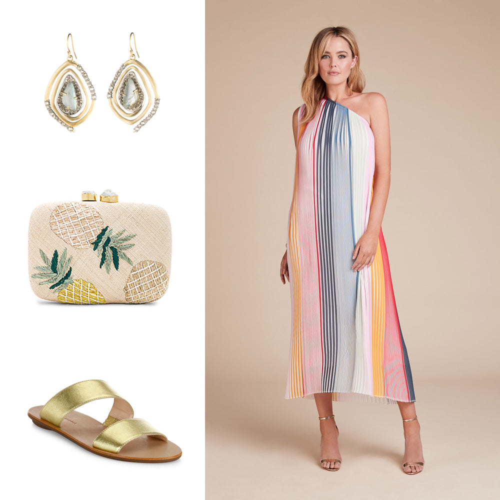 01ef2179c Take an airy approach when dressing for a beach wedding. Choose an outfit  that feels comfortable