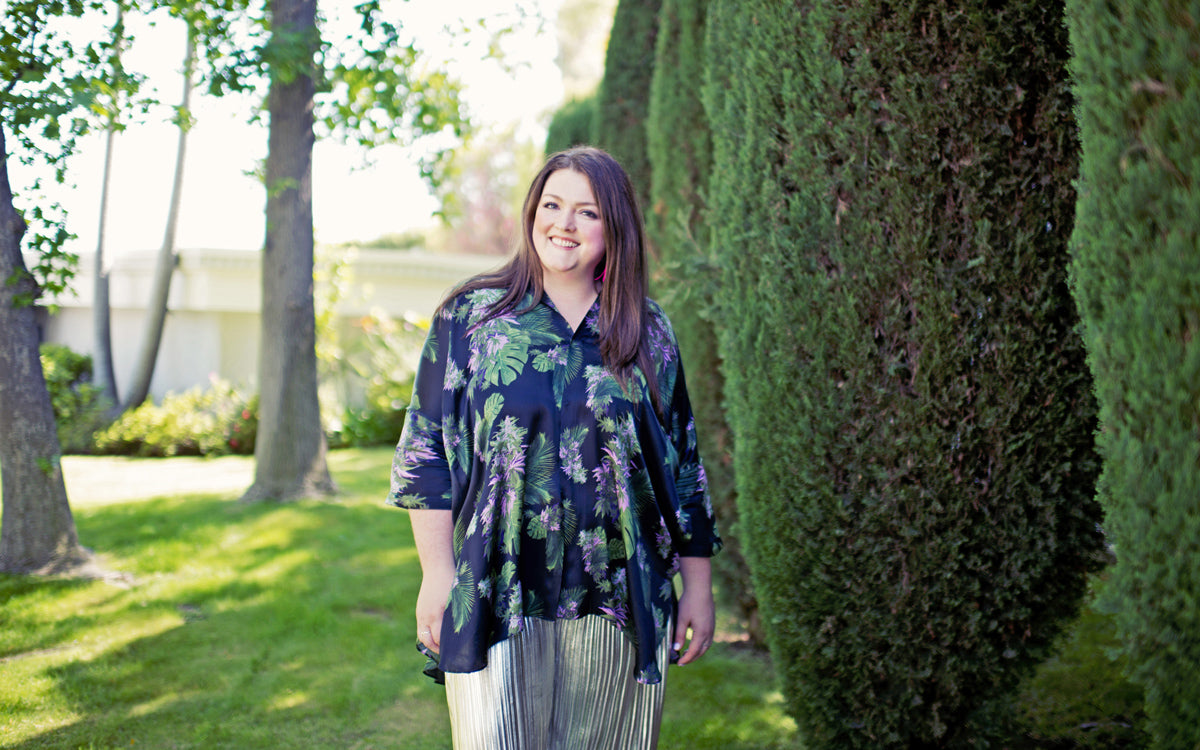 plus size designer fashion Rachel Richardson
