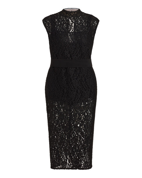 Marina Bulkatina Goodnight Black Lace Dress